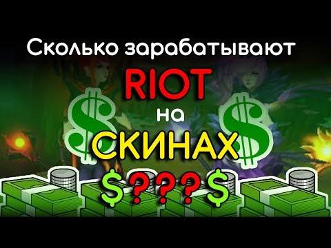 [LoL] Сколько зарабатывают Riot на новых скинах?