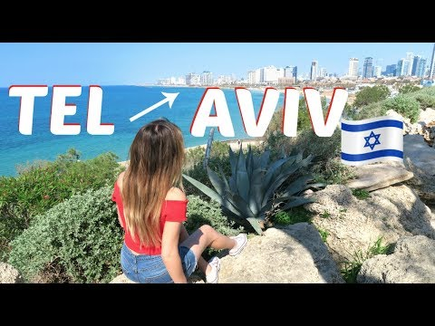 TRAVELING TO ISRAEL | Travel Vlog - Tel Aviv