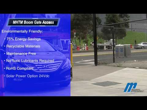 MHTM Boom Gate Access Magnetic Automation