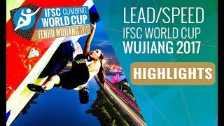 IFSC Climbing World Cup Wujiang 2017 - Lead Finals Highlights by International Federation of Sport Climbing
