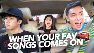 Video When Your Fav Songs Comes On | Ranz and Niana ft Motoki MP3, 3GP, MP4, WEBM, AVI, FLV Agustus 2018