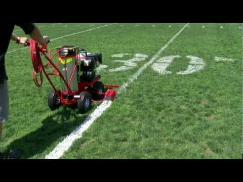 Trueline Motorized Striping Machine for Grass Fields and Parking Lots