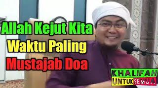 Download Video Ustaz Jafri Abu Bakar Mahmoodi : Allah Kejut Kita Waktu Paling Mustajab Doa MP3 3GP MP4
