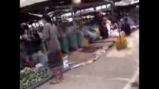 Thakhek Laos  city images : Thakhek Market (Talat Ta Kaek) Khammuan Laos