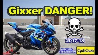 6. 2018 Suzuki GSX-R1000 DANGER! BEWARE! (2017-18 models)