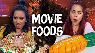 Trying Foods from Famous Movies! (Cheat Day) by Clevver Style