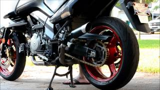6. VStrom Exhaust Sound