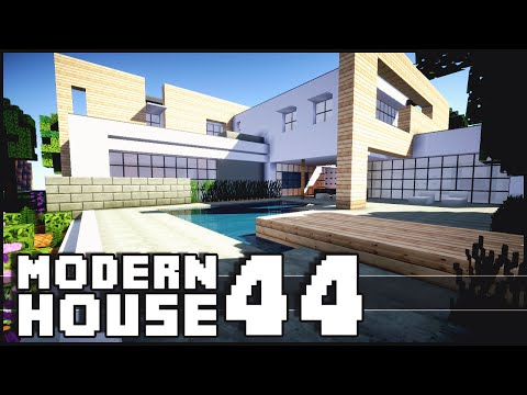 Modern - Minecraft - Modern House 44 The Minecraft Inspiration Series! Give it a LIKE if you did enjoy. Don't forget to subscribe ▻ http://goo.gl/yCQnEn Shaders for 1.7.2 Tutorial - http://goo.gl/qSgFVJ...