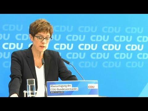 Η Γερμανία κοιτάζει αριστερά; – Προειδοποιήσεις από την πρόεδρο του CDU…