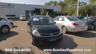 Autoline's 2008 Nissan Versa 1.8 SL Walk Around Review Test Drive