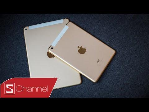 Mở hộp iPad Mini 3 = iPad Mini 2 + Màu vàng + Cảm biến vân tay