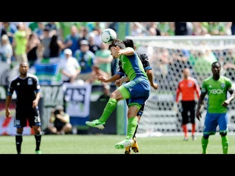 seattle - Western Conference showdown between Seattle Sounders and the San Jose Earthquakes at Century Link Fields in Seattle, WA. Subscribe to our channel for more so...