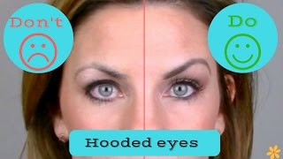 Video Hooded, droopy eyes DOs & DON'Ts/ Makeup technique. MP3, 3GP, MP4, WEBM, AVI, FLV Juni 2019
