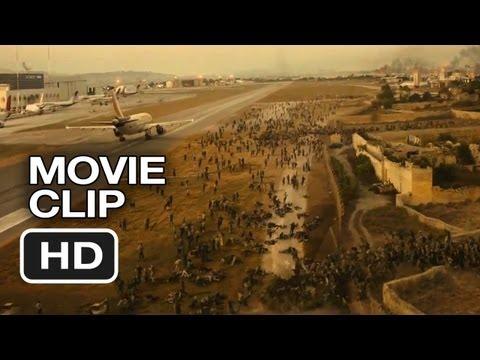 World War Z Movie CLIP - Escape From Israel (2013) - Brad Pitt Zombie Movie HD