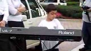 Ethan Bortnick Playing Piano