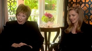 Nonton THE LAST WORD Interview: Shirley MacLaine and Amanda Seyfried Film Subtitle Indonesia Streaming Movie Download