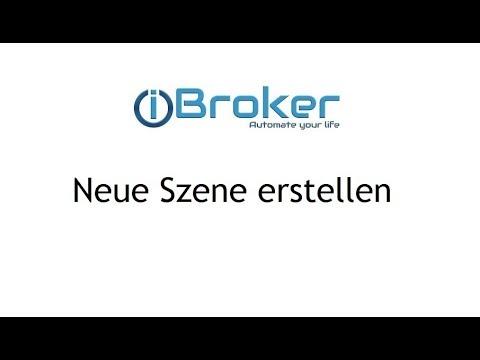 ioBroker - Neue Szene erstellen