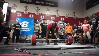 Kevin OAK World Record Raw (Sleeves) Total at 220 | Water Cut VLOG