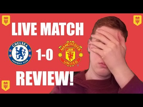 CLUELESS! Chelsea 1-0 Man United FA CUP FINAL REVIEW!