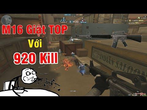 Cầm M16 Giật TOP Với Kỷ Lục 920 KILL Zombie Nano CFQQ - Rùa Ngáo - Thời lượng: 17:08.