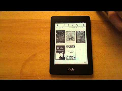 Kindle Paperwhite Ebook Reader Review Test Tipps Tricks Vergleich zu 4 [deutsch german]