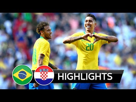 Brazil vs Croatia 2-0 - All Goals & Extended Highlights (03/06/2018) HD