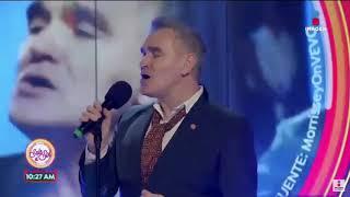 Morrissey en Sale el Sol 2018