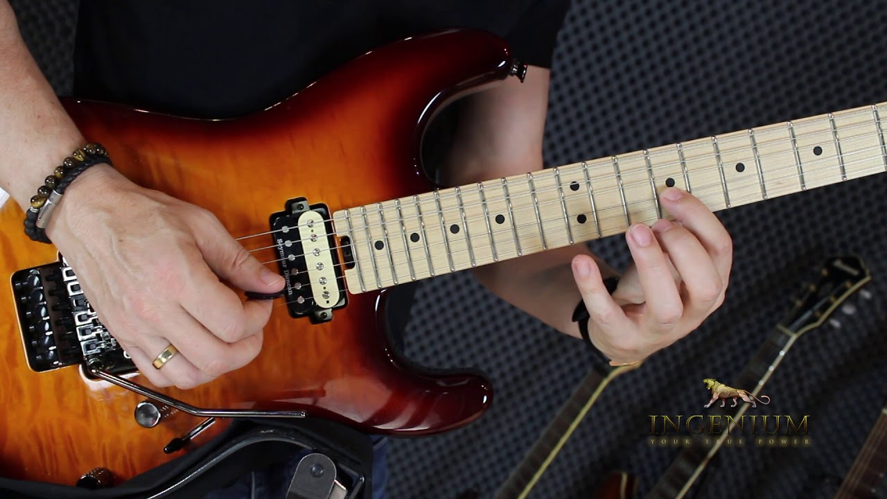 Horizontal Arpeggio Sequencing – Guitar mastery lesson