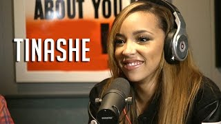 Tinashe Has Her Tongue Measured on Hot 97