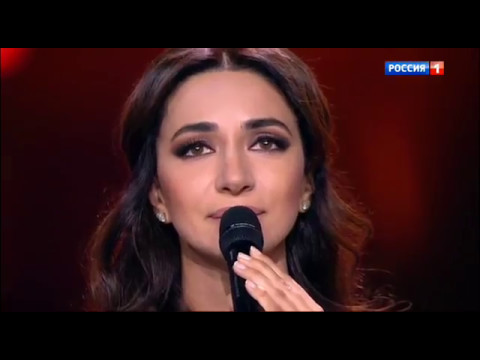 Зара  - Баллада о красках / Zara - Paint Ballad (@ 9 мая 2017, Россия 1) (видео)