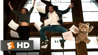 Ted 2  6 10  Movie Clip   Library Dance  2015  Hd