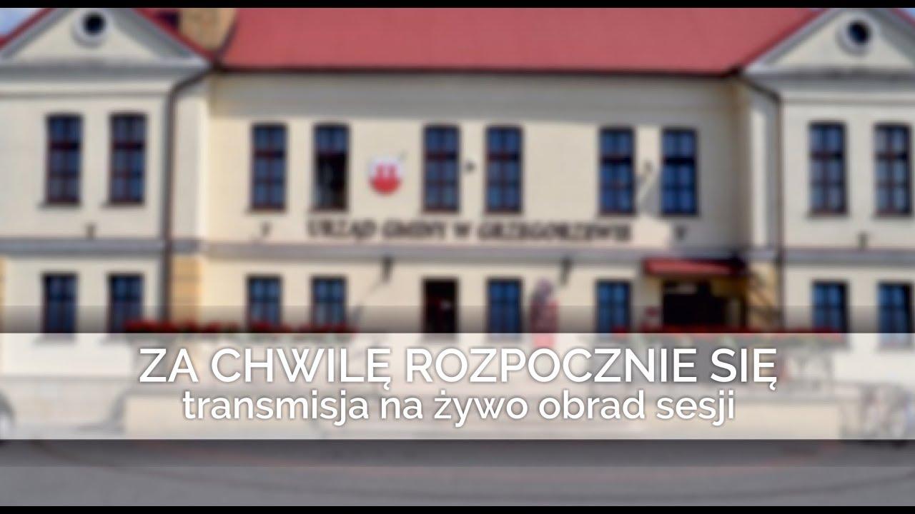 Sesja Rady Grzegorzewa - styczeń 2019