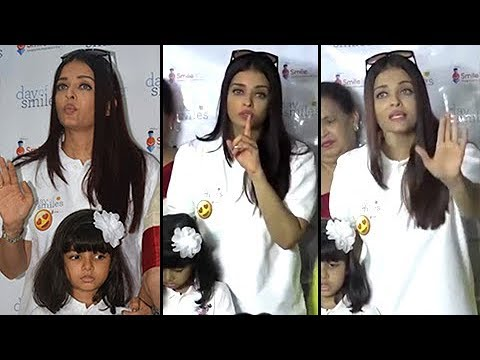 Aishwarya Rai SHOUTS On Reporters For Scaring Aara