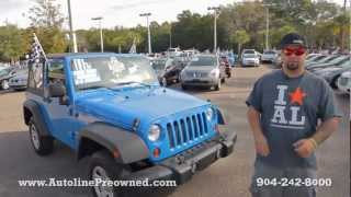 Autoline's 2011 Jeep Wrangler Sport Walk Around Review Test Drive