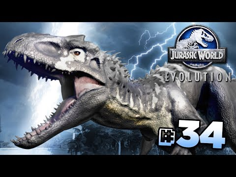AN IMPROVED INDOMINUS REX!!! - Jurassic World Evolution FULL PLAYTHROUGH | Ep34 HD
