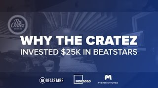Invest in BeatStars and Get Equity - https://mv1.vc/beatBeatStars members The Cratez talks why they invested in BeatStars.com's equity crowdfunding campaign and what it means to them to support the future of music producers.
