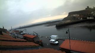 Whitby Thu 22nd Jan 2015 24-Hour Time-lapse (Downriver)