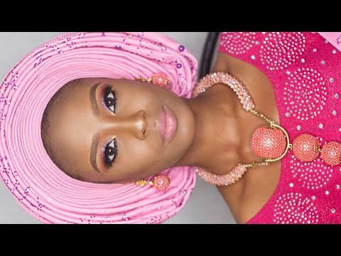 HOW TO TIE NIGERIAN BRIDAL GELE