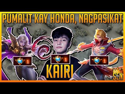 KAIRI NAGPASIKAT SA NATIONAL ARENA (PUMALIT KAY HONDA & RIDDLER) ~ Mobile Legends