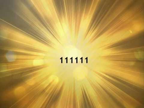 chiffre angélique: signification du nombre 111111