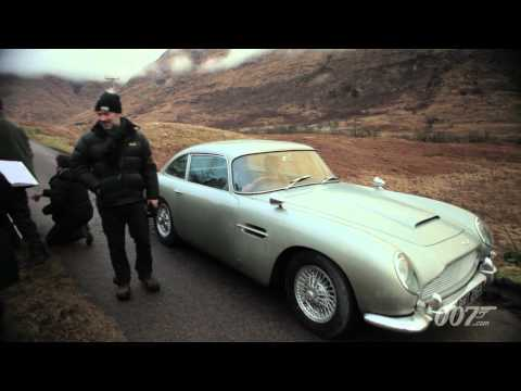 James Bond 007 - New SKYFALL DB5 Videoblog - This new SKYFALL production videoblog spotlights Bond's Aston Martin DB5