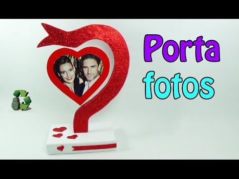 romantico portafoto in foamy
