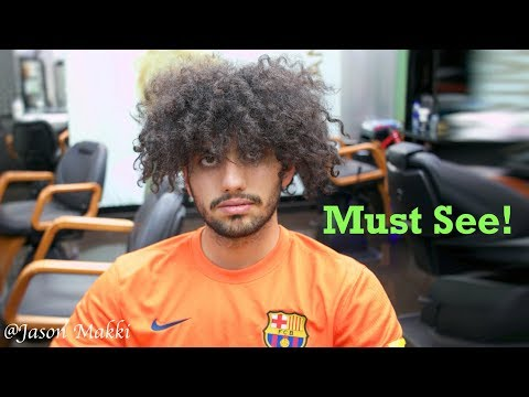 Easy hairstyles - Haircut Transformation - How to style Curly hair - Easy Hairstyle for men 2018 #28