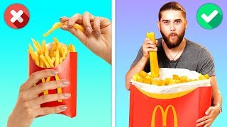 Video 12 CRAZY YET DELICIOUS FOOD HACKS YOU WILL LOVE MP3, 3GP, MP4, WEBM, AVI, FLV Agustus 2019