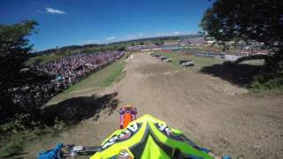 Frauenfeld Switzerland  City pictures : GoPro: Tony Cairoli FIM MXGP 2016 RD15 Frauenfeld, Switzerland Race 1 Lap 1