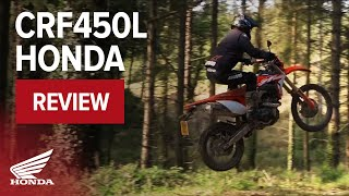 8. CRF450L Dual Purpose Motorcycle Review - 2019