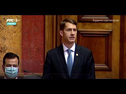 Az új kormány programjáról és összetételéről vitázott a szerb parlament-cover