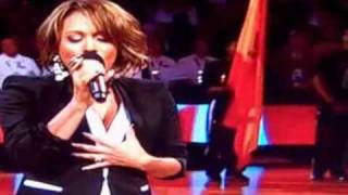 Tamia- Canadian Anthem ALL STAR WEEKEND