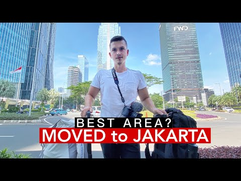 I MOVED to JAKARTA - Most MODERN Area in INDONESIA?(Full Apartment Tour)