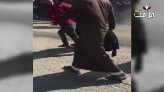 القوات الأمنية تفض التظاهرات التي خرجت امام محكمة استئناف المثنى والتي كانت معترضة على الحكم الصادر